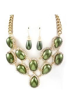 Stunning Pearlescent Teardrops outlined in a Shimmer of Crystals. Gorgeous!!!