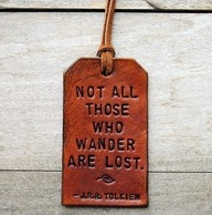 I want to wander. I want to get lost!