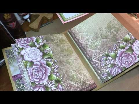 Heartfelt Creations Tutorial Pt4 Album and Inserts - YouTube