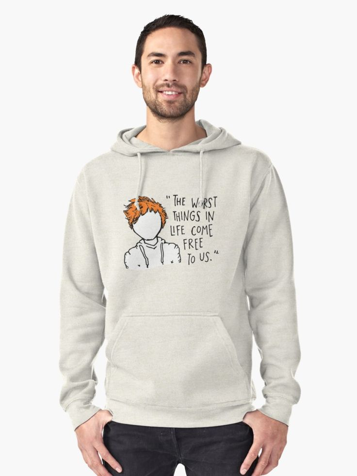 the worst things in life come free to us quotes Pullover Hoodie