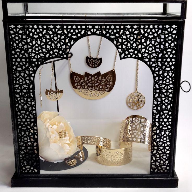 Collection DEAR ORIENT. Made in France. Bijoux marocains, bijoux ethniques, bijoux d'orient, bijoux mariage, manchette chic, bijoux orientaux