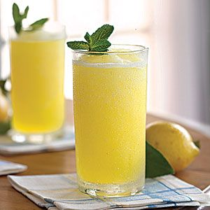 Frozen Vodka Lemon Slush. Why wait for Summer? This is a must try now!