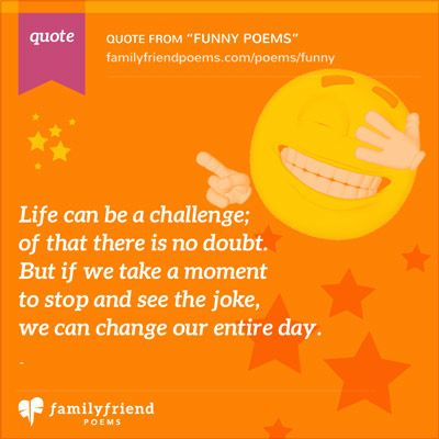 Family Friend Poems, Funny Poems