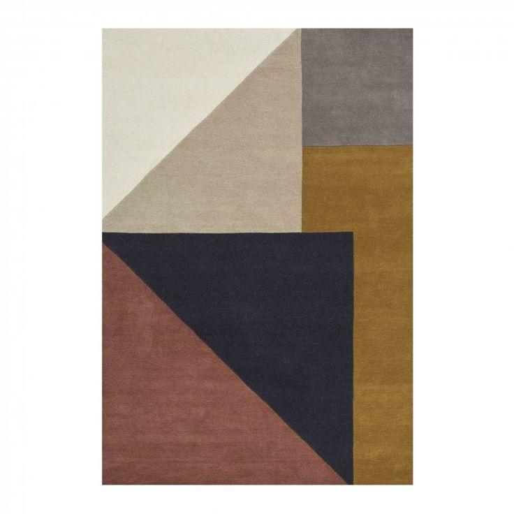 Arguto Multi 170x240 cm Mönstrad matta | Linie Design | Länna Möbler | Handla online