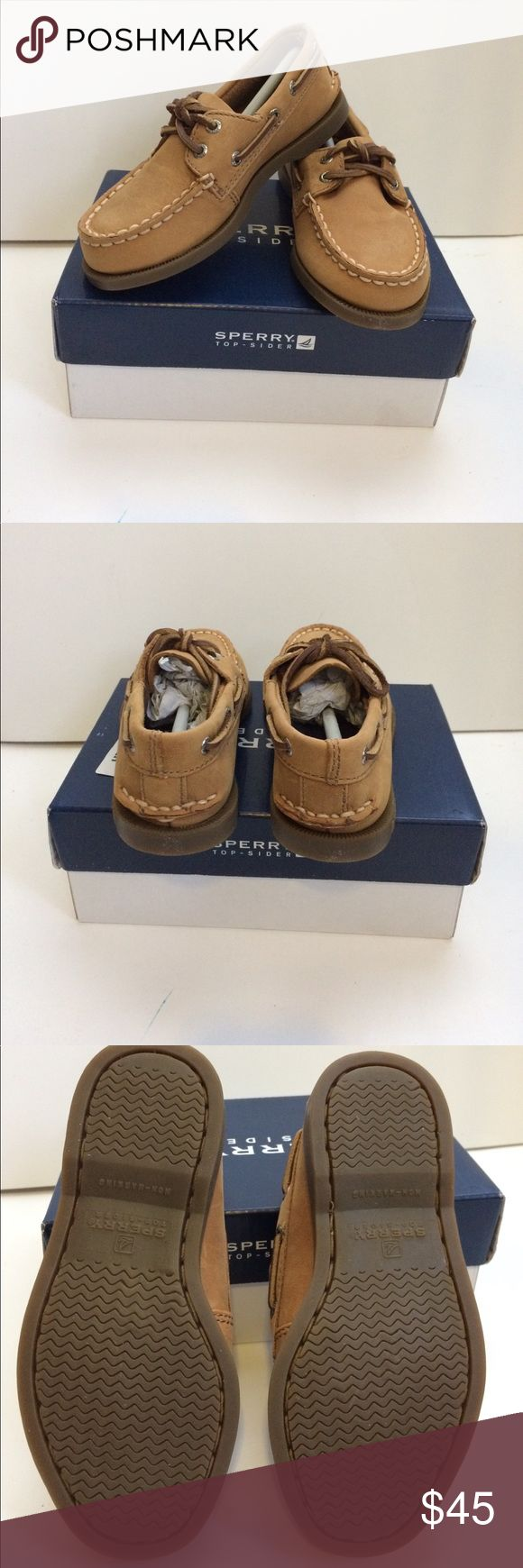 Boys Sperry Top-sider Sahara Leather Size 9 1/2 Boys Sperry Top-sider Sahara Leather Size 9 1/2 Sperry Top-Sider Shoes