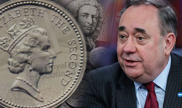 Independent Scotland could drop pound and start NEW currency claims Salmond