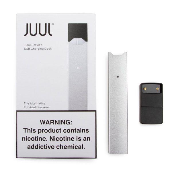 Juul Original Device Silver Made In Usa Juul Vape Vape Pods Devices