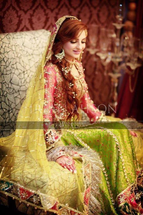 Pakistani weddings   Desi wedding   Bridal mehndi dresses ...