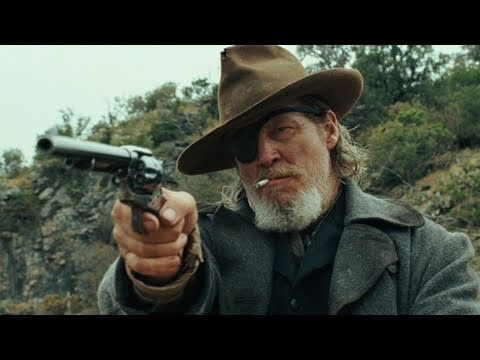 T is for True Grit. I always did love this film but couldn't stand John Wayne. So when the Coen Brothers decided to give the book their unique treatment I was delighted. Jeff Bridges is perfectly cast as Rooster and the young girl who plays Mattie is absolutely sublime.
