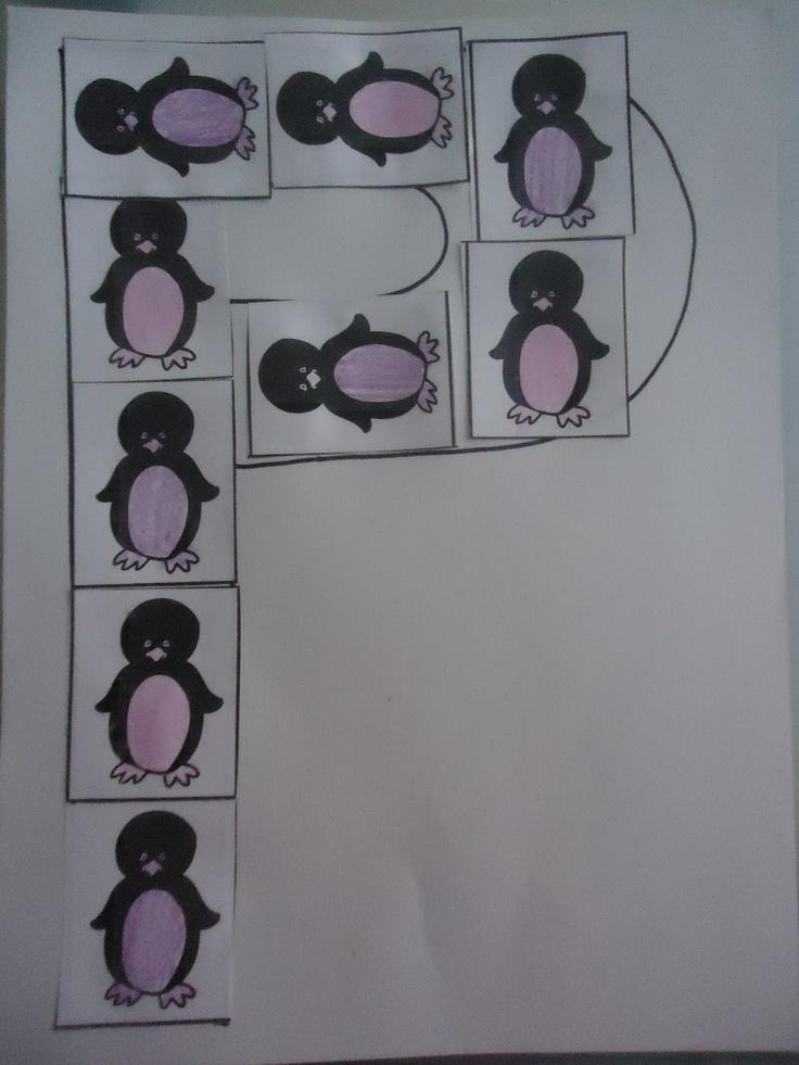 Pretty Cool Preschool P is for Penguins!...Practice
