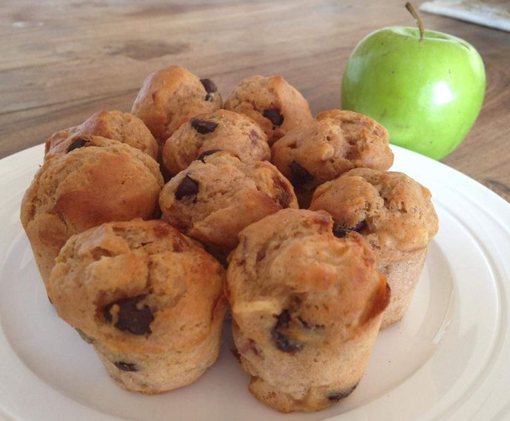 Recipe 20 sec chocolate banana mini muffins by Chrissy Robertson - Recipe of category Baking - sweet