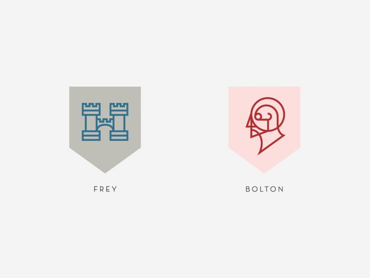 Nike's graphic designer Darrin Crescenzi re-did the Game of Thrones house sigils as if they were corporate logos.
