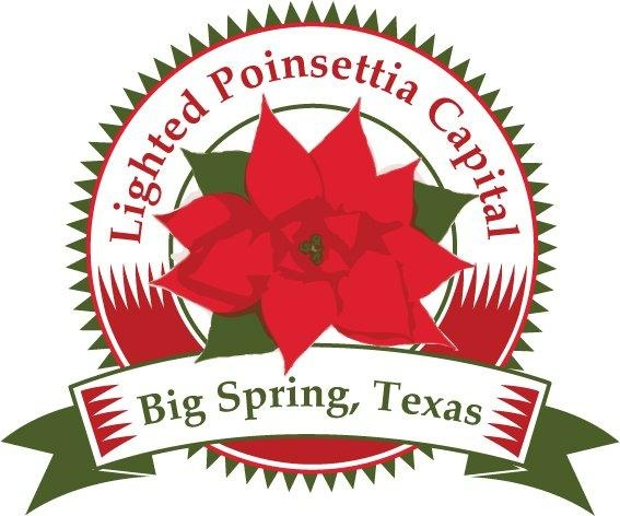 Lighted Poinsettia Capital is Big Spring, Texas and they have the Comanche Trail Festival of lights in Big Spring: Comanch Trail, Poinsettia Capitals, Lights Poinsettia, Big Spring, Trail Festivals
