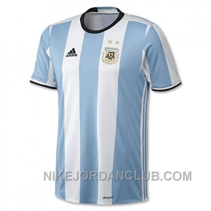 http://www.nikejordanclub.com/2016-argentina-home-soccer-jersey-shirt-online.html 2016 ARGENTINA HOME SOCCER JERSEY SHIRT ONLINE Only $67.00 , Free Shipping!