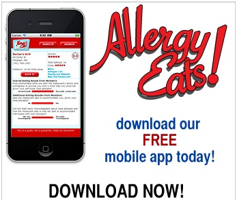 47 best mobile apps for food allergies images on pinterest mobile allergy eats search a database of restaurants by city zip code or your forumfinder Choice Image