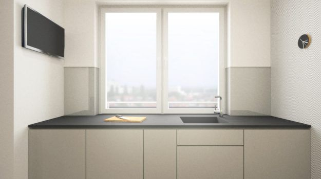 Návrh kuchyne - interiér Banšelova, Bratislava - Interiérový dizajn / Kitchen interior by Archilab