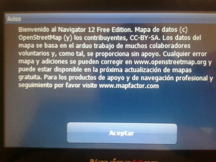 Navigator 12 free winCE Osm (world)