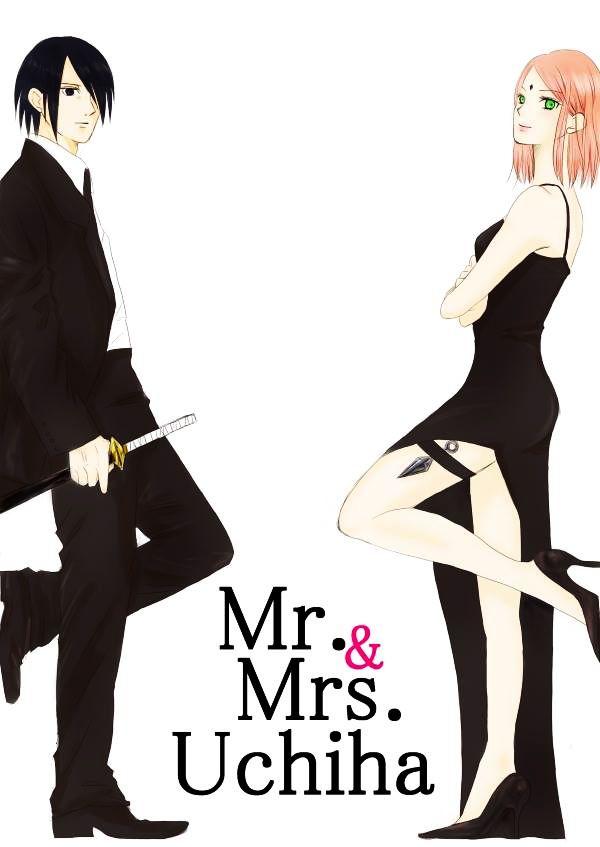 Mr. and Mrs. Uchiha