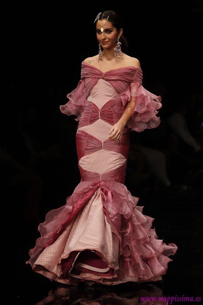 2073 best trajes flamenca images on pinterest for Flamenco style wedding dress