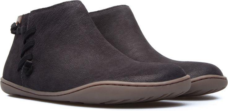 Camper Peu Black Ankle boots Women 46824-034