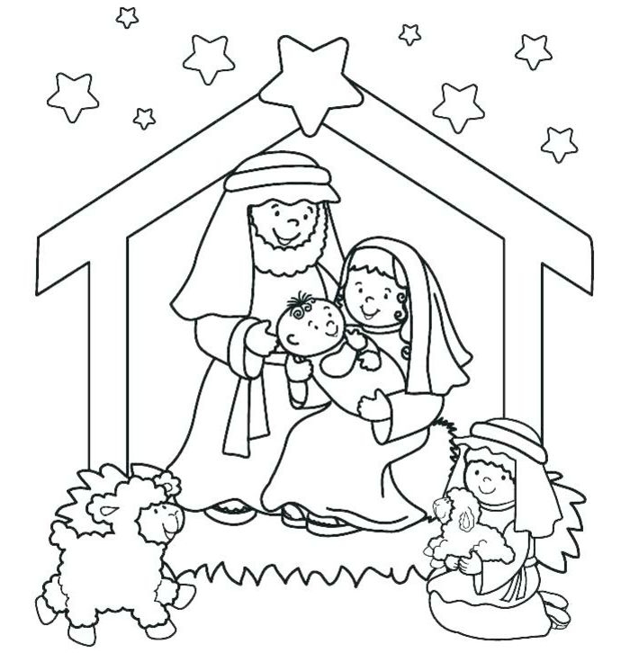 ▷ 1001 + ideas de dibujos navideños para colorear | Navidad | Pinterest
