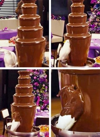 Make your own chocolate animals instead of buying a chocolate bunny!!!