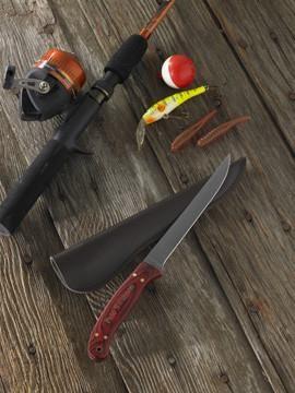 Personalized Solid Wood Handle Filet Knife #groomsmen #weddings