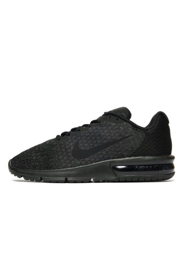 best service 6c335 32ecb New NIKE AIR MAX SEQUENT 2 RUNNING SHOES BLACK MENS 10 NEW 852461-001