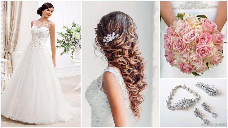 pink bridal inspiration  bridal jewelry NOVIA BLANCA biżuteria ślubna www.novia-blanca.pl