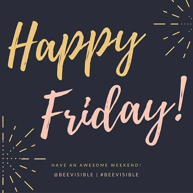 Happy Friday! Do you have any awesome weekend plans? . . . . #friday #followfriday #friyay #fridayfunday #nearlytheweekend #instagram #instagood #instalove #love #follow #happy #beautiful #like #fun #instadaily #igers #instalike #happyfriday #fridayfun #frinally #fridayfeeling #tgif