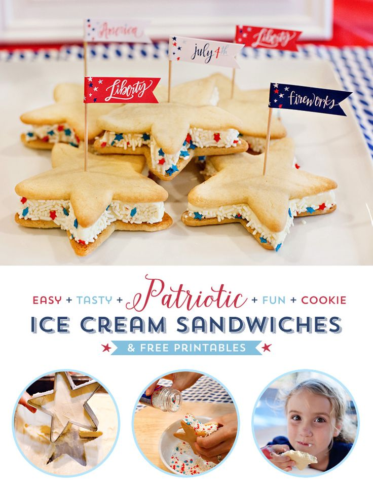 Patriotic Sugar Cookies on Pinterest | Sugar Cookie Bars, Sugar Cookie ...