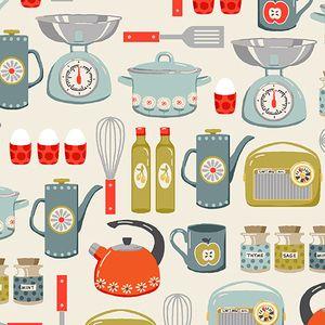 The Henley Studio   Lilas Kitchen   Kitchenware In Cream