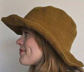 Crochet Pattern Mens Hat With Brim : 427 best images about crochet - hat/scarf/glove on ...