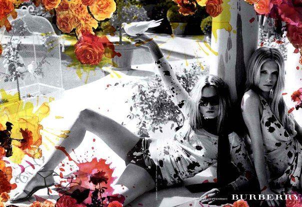 #Burberry #Kate Moss
