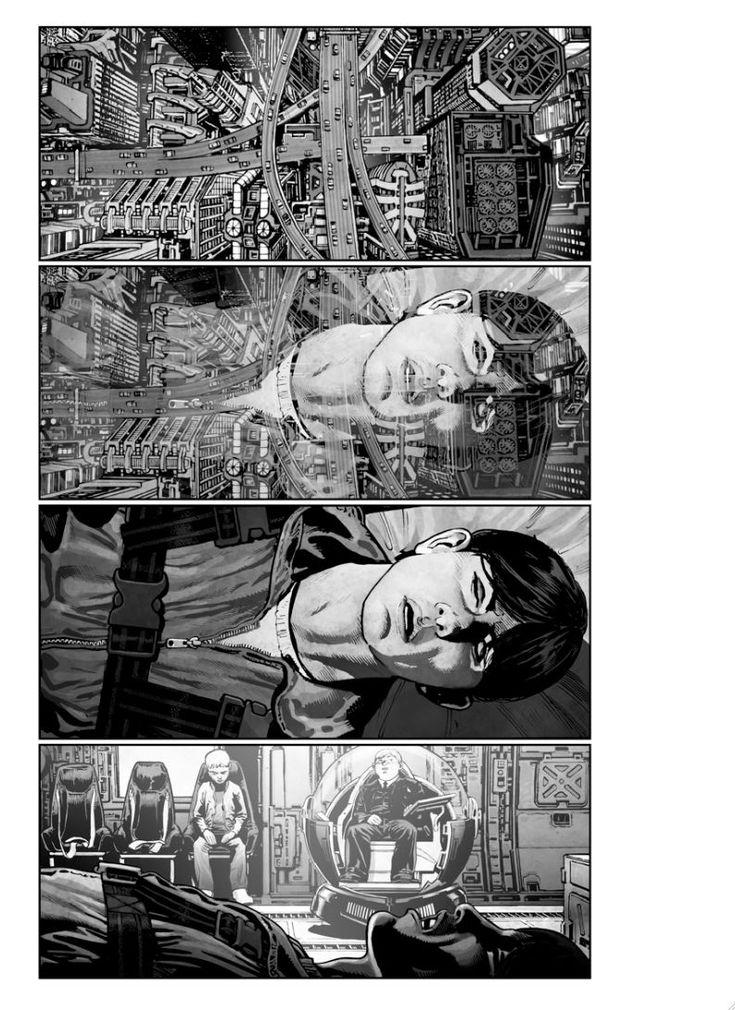 Unused American Akira storyboards.