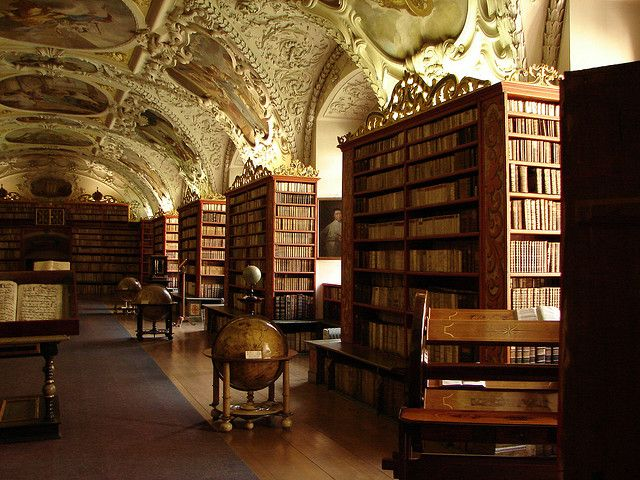 The library of Strahov Monastery, one off-the-beaten-path place to visit in Prague