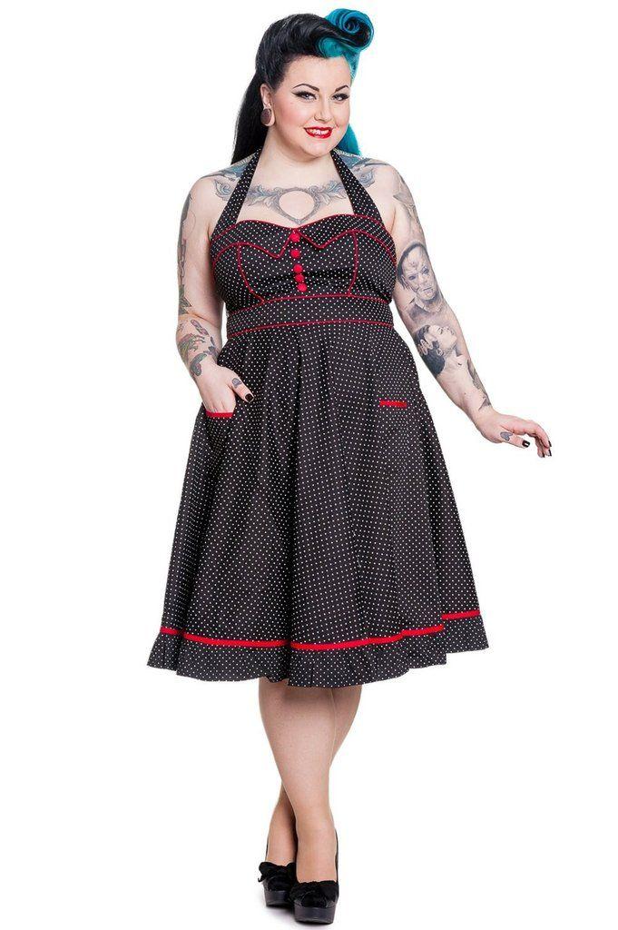Hell Bunny Vanity Dress  Black  Vintage Vintage