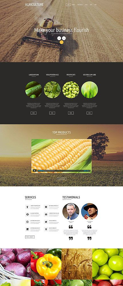 Agriculture Joomla Theme