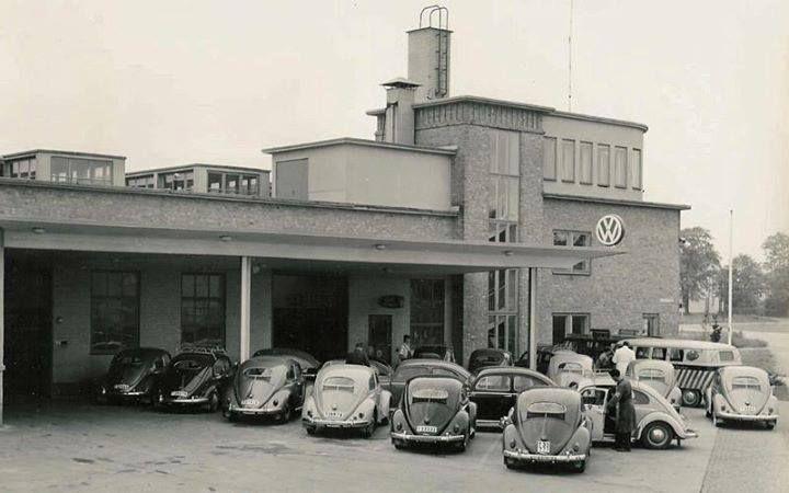 VW dealership.