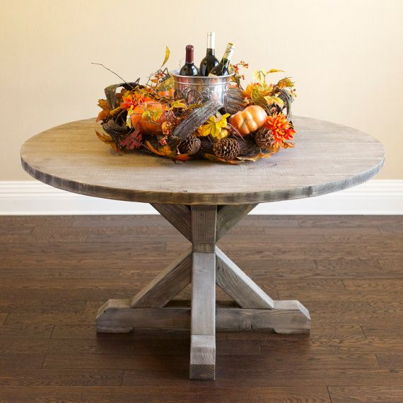25+ Best Ideas About Round Farmhouse Table On Pinterest