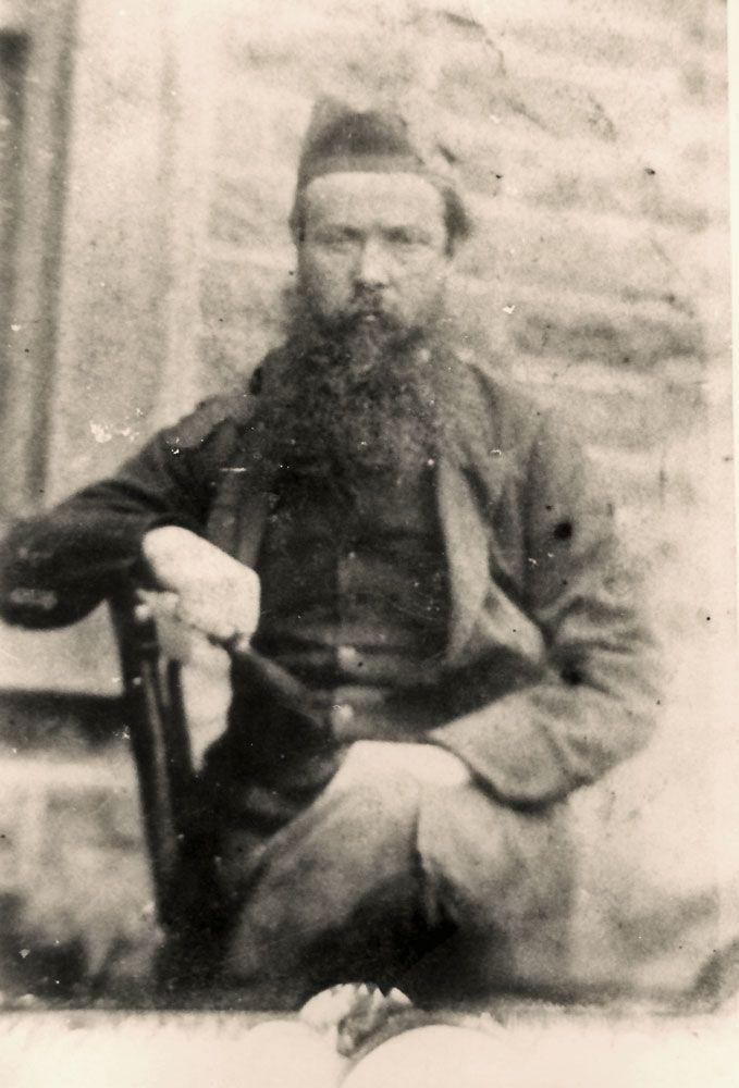 Mr James Stuart, teacher at Frederich school Marburg 1879