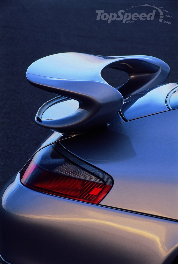 1999-2003 PORSCHE 911 996.1 GT3 (996.1/MK1) - Rear Wing or Spoiler ..996.1 or MK1 refers to the first generation .. this rear wing was changed in the 2004 facelift for the 996.2 (MK2), the second generation