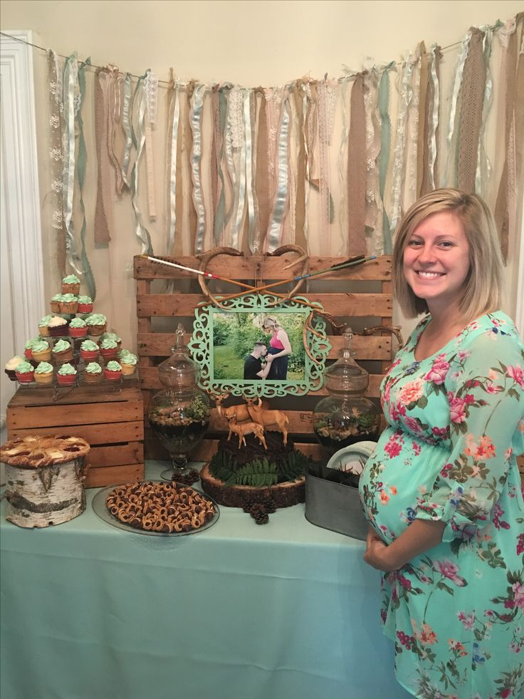 Woodland Baby Shower                                                       …