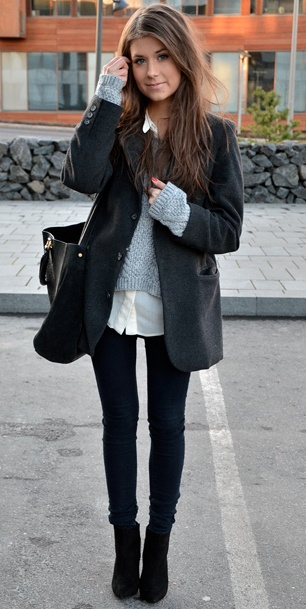 #cute #look #style #clothes #girl #winter #coat #cold