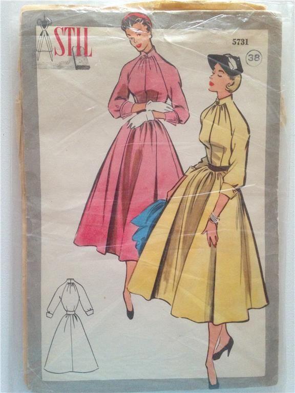 Vintage retro symönster Stil Vi 50 60 70 tal mönster