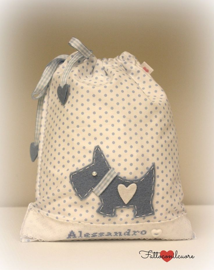 sacco portapannolini e cambio , idea regalo, by fattoconilcuore, 21,00 € su misshobby.com #misshobby