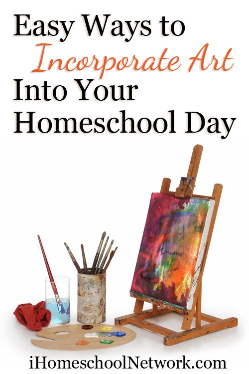Easy Ways to Incorporate Art into Your Homeschool Day