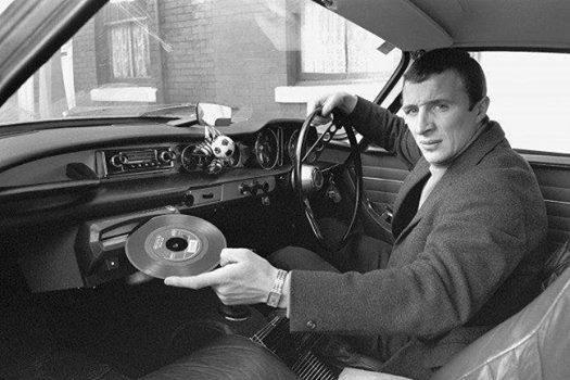 Автомобильная аудиосистема с некомпакт-дисками. Великобритания. 1960-е.