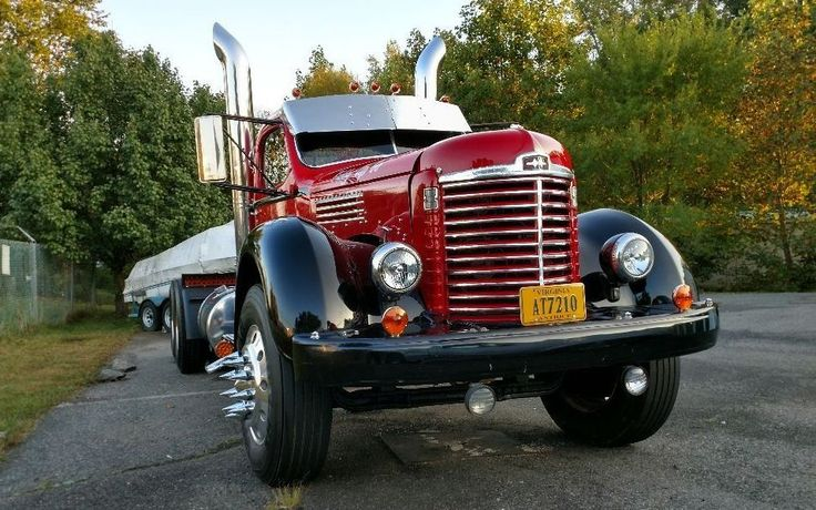 Stunning 1947 International Harvester KB5 #Trucks #InternationalHarvester - https://barnfinds.com/stunning-1947-international-harvester-kb5/