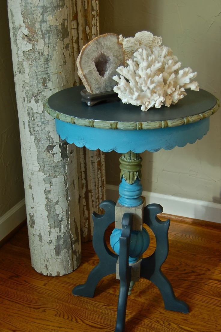End Table Paint Ideas 147 Best Painted Tables Images On Pinterest Painted Tables